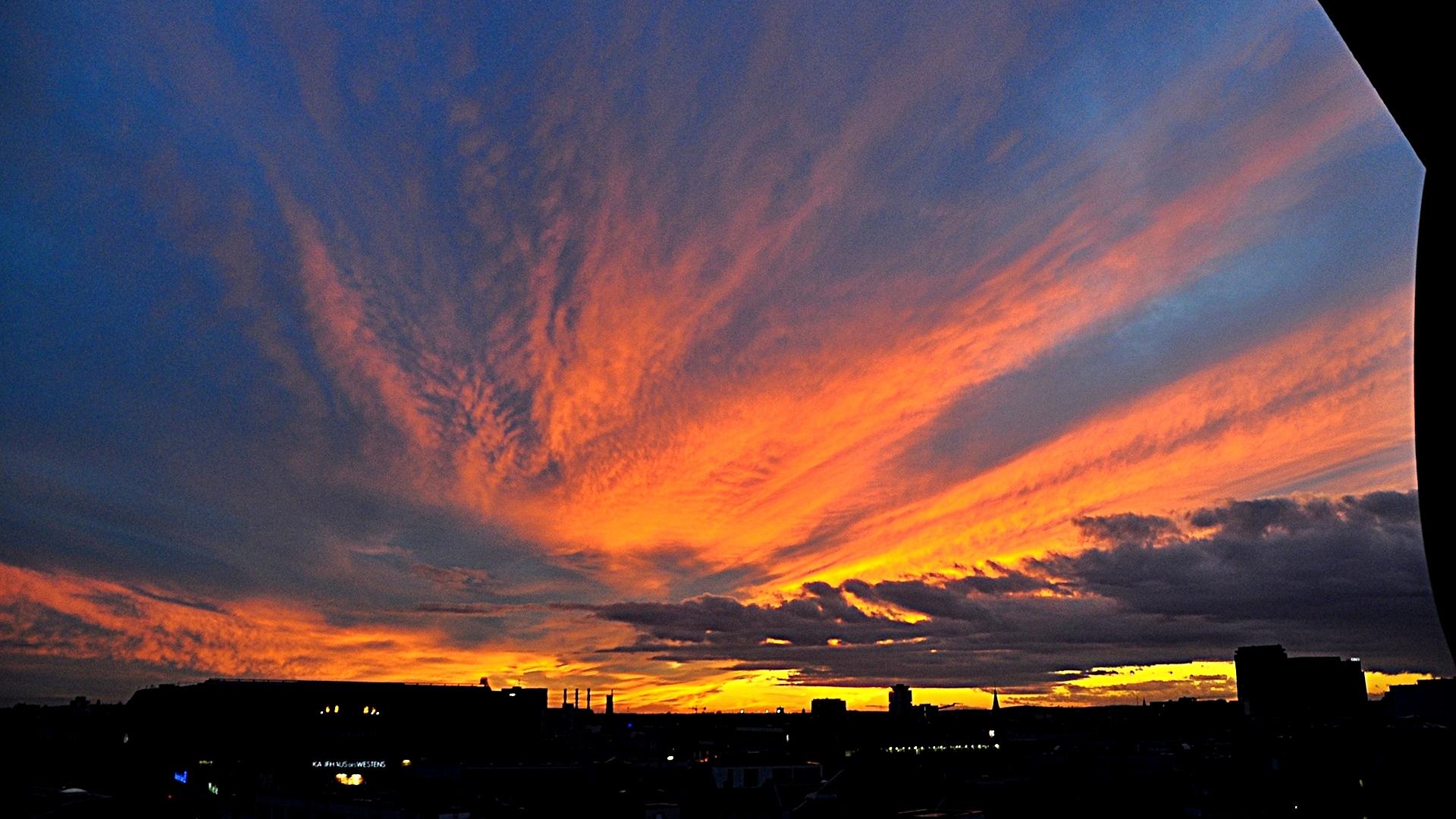 Sonnenuntergang über dem KaDeWe