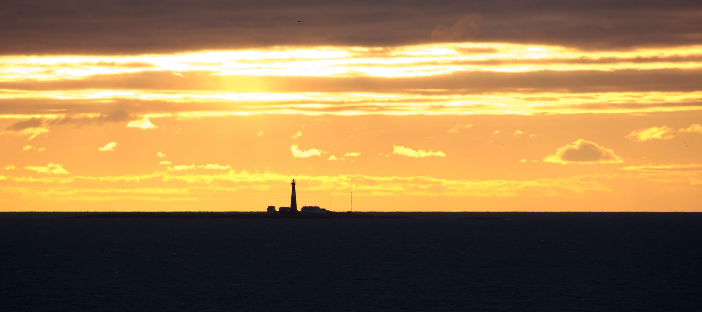 Sonnenuntergang über dem Skagerrak