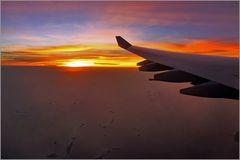 Sonnenuntergang über der Karibik