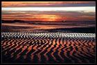 Sonnenuntergang über der Nordsee !