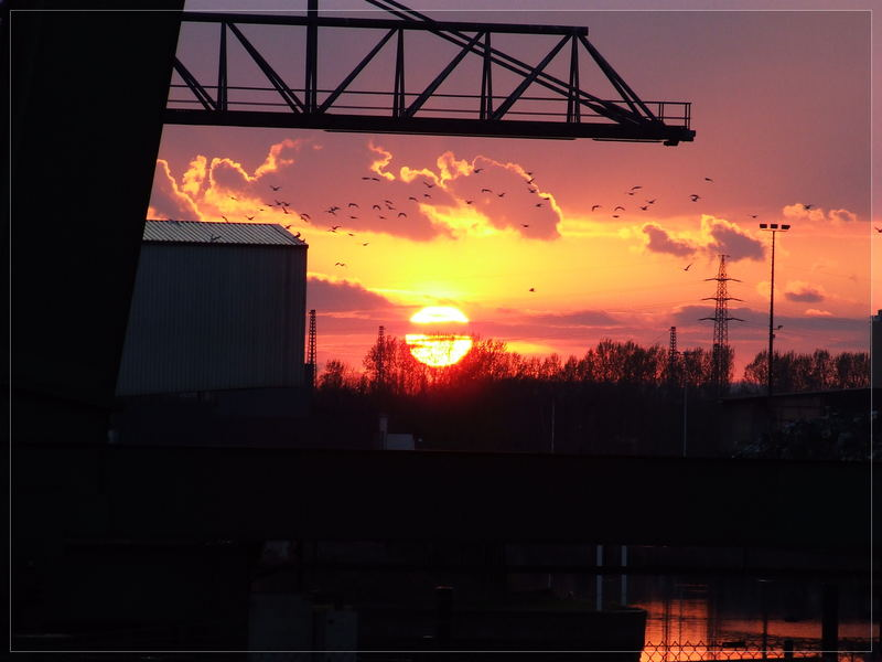 Sonnenuntergang über Dortmund part 2