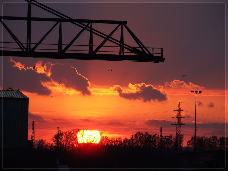 Sonnenuntergang über Dortmund part 3