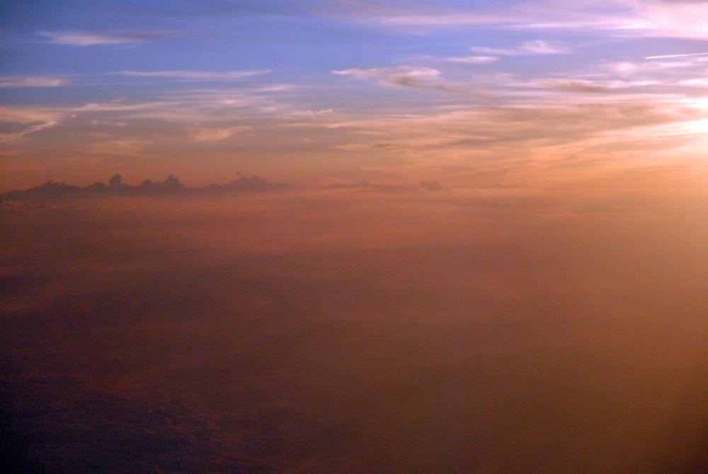 Sonnenuntergang über East Coast