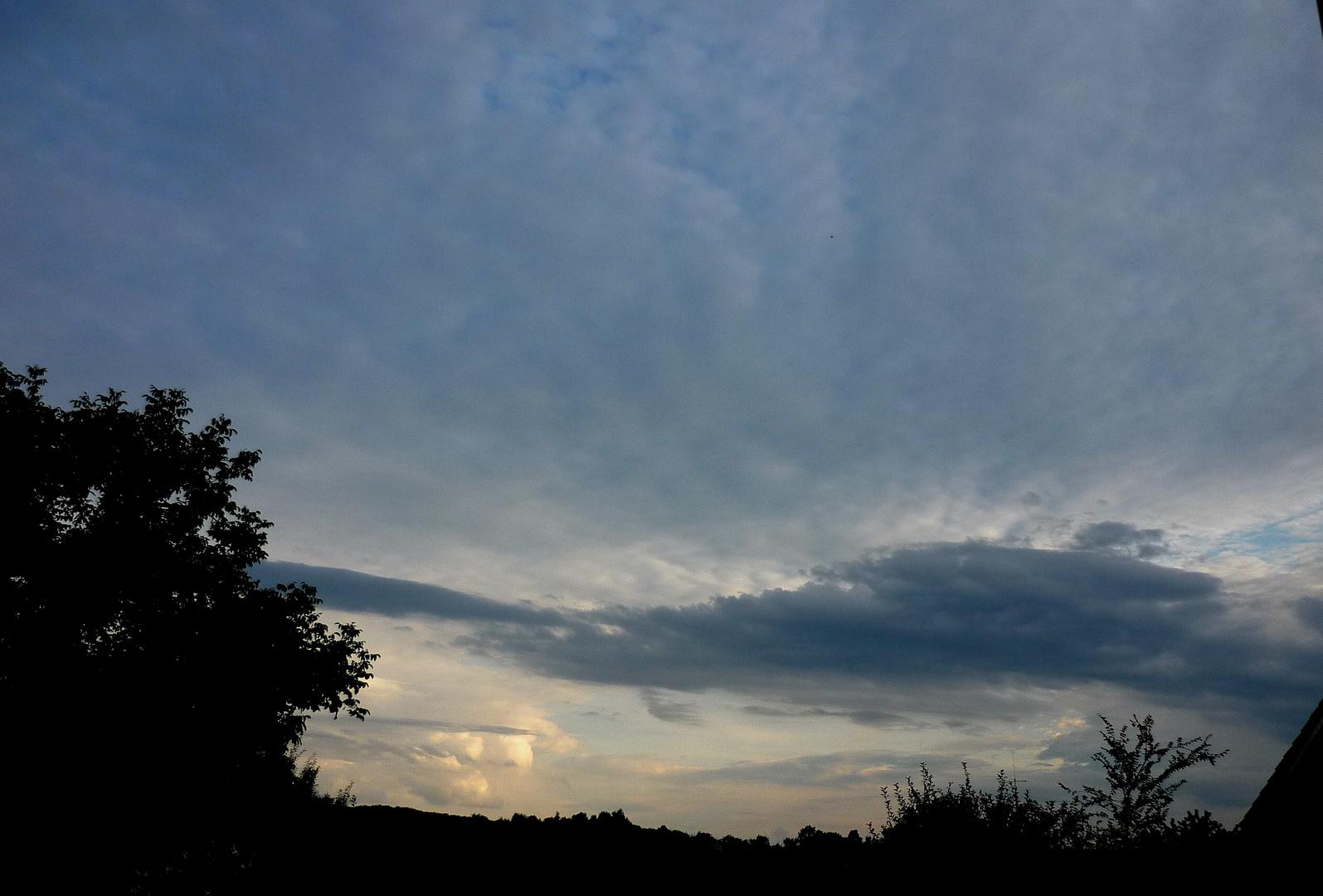Sonnenuntergang über Göppingen (bearbeitet)