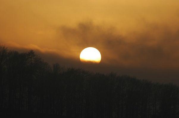 Sonnenuntergang über Hagen