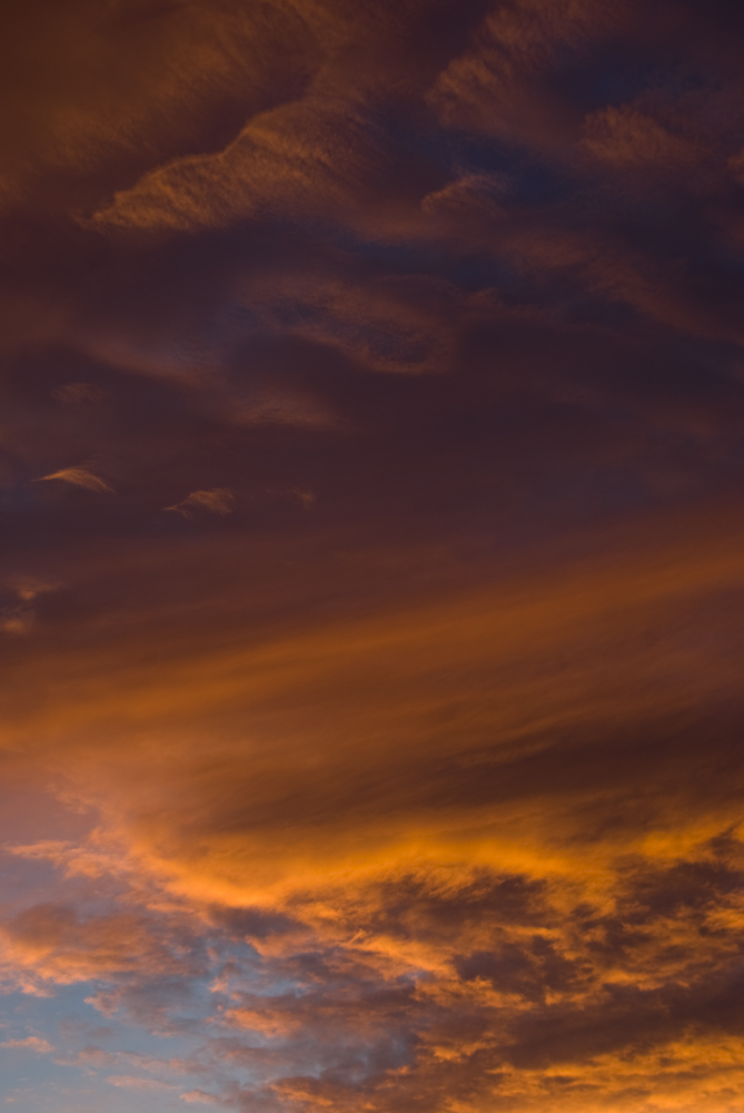 Sonnenuntergang über Hannover List