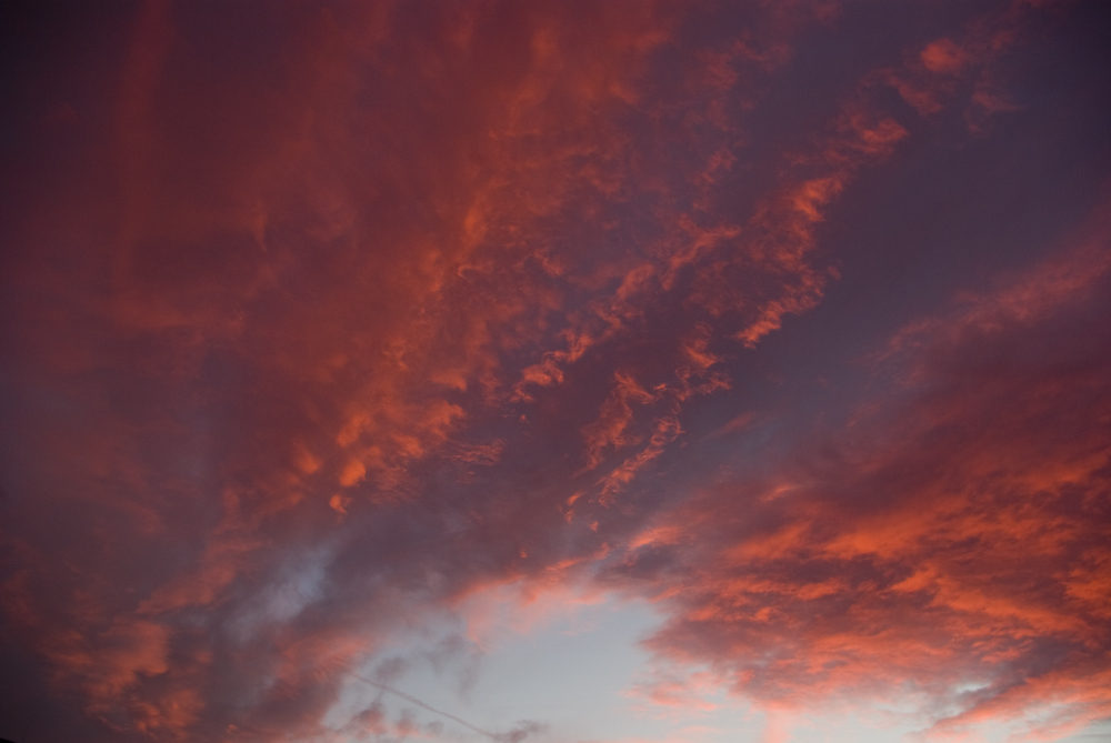 Sonnenuntergang über Hannover List 2