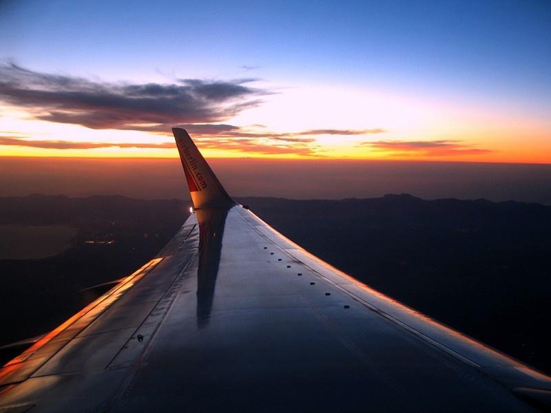 Sonnenuntergang über Mallorca