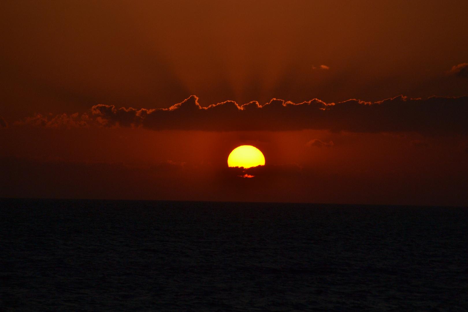 Sonnenuntergang über Marmara Meer