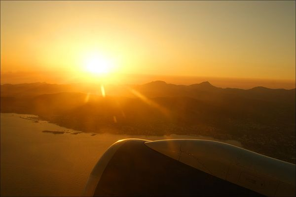 Sonnenuntergang über Palma