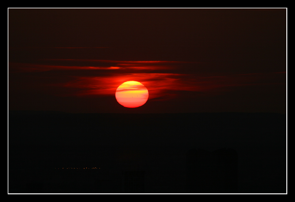 Sonnenuntergang über Paris Nr.2