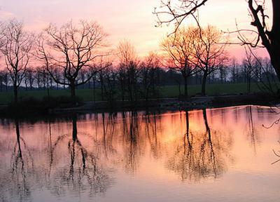 Sonnenuntergang ueber Speckhorn