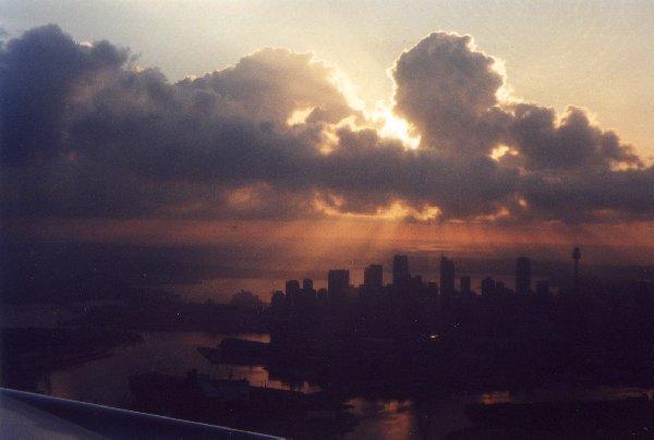 Sonnenuntergang über Sydney