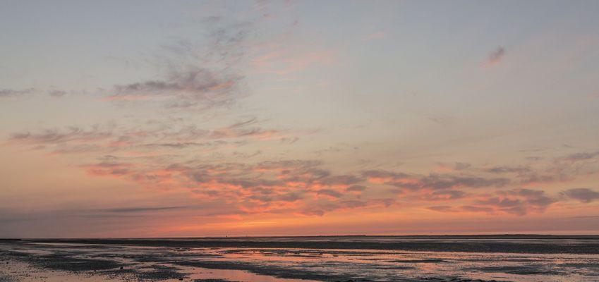 Sonnenuntergang über Wangerooge III