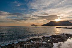 Sonnenuntergang überdem Moro de Tox