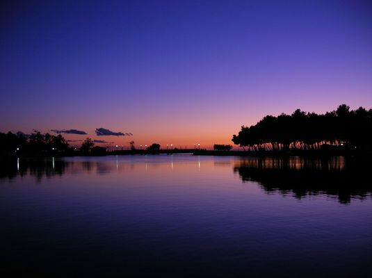 Sonnenuntergang Umag
