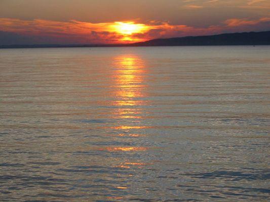 Sonnenuntergang Ungarn II