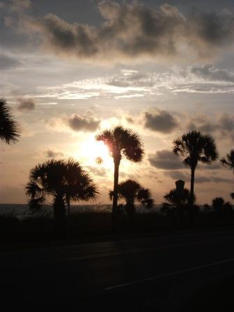Sonnenuntergang USA 2010