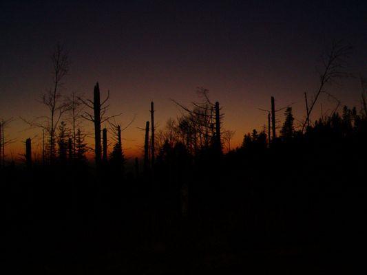 Sonnenuntergang verpasst :-)