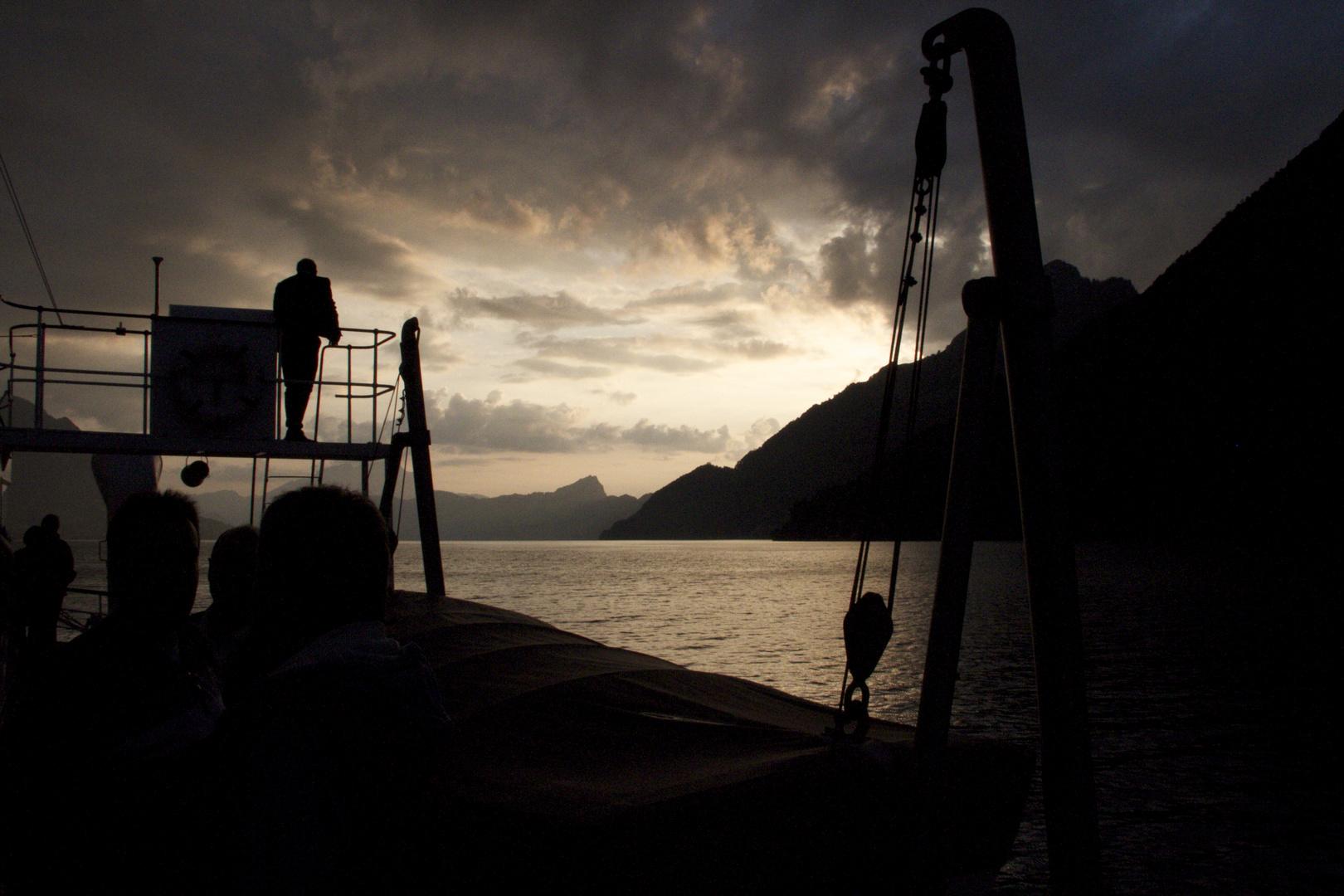 Sonnenuntergang Vierwaldstättersee 01