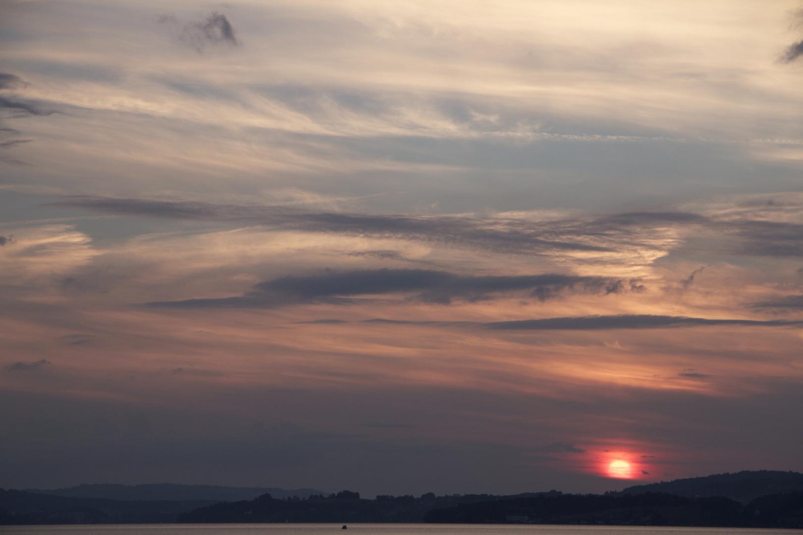 Sonnenuntergang Vierwaldstättersee 03