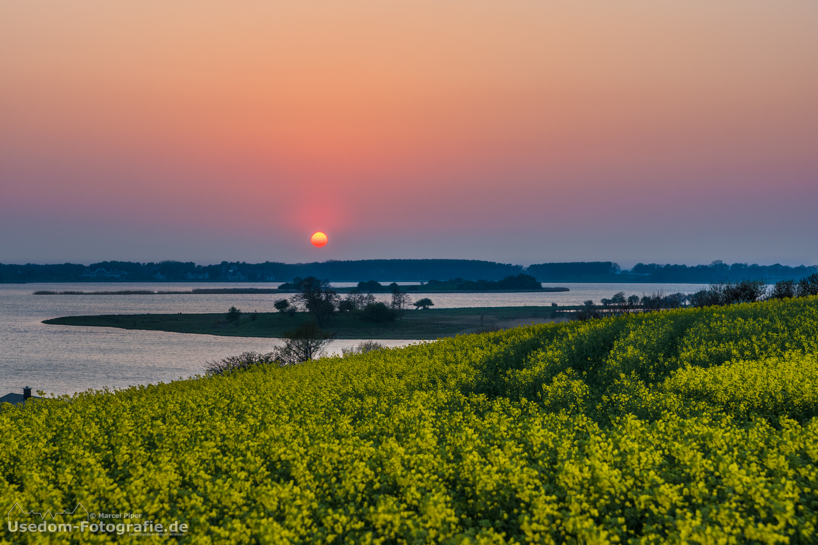 Sonnenuntergang vom 19.04.2014