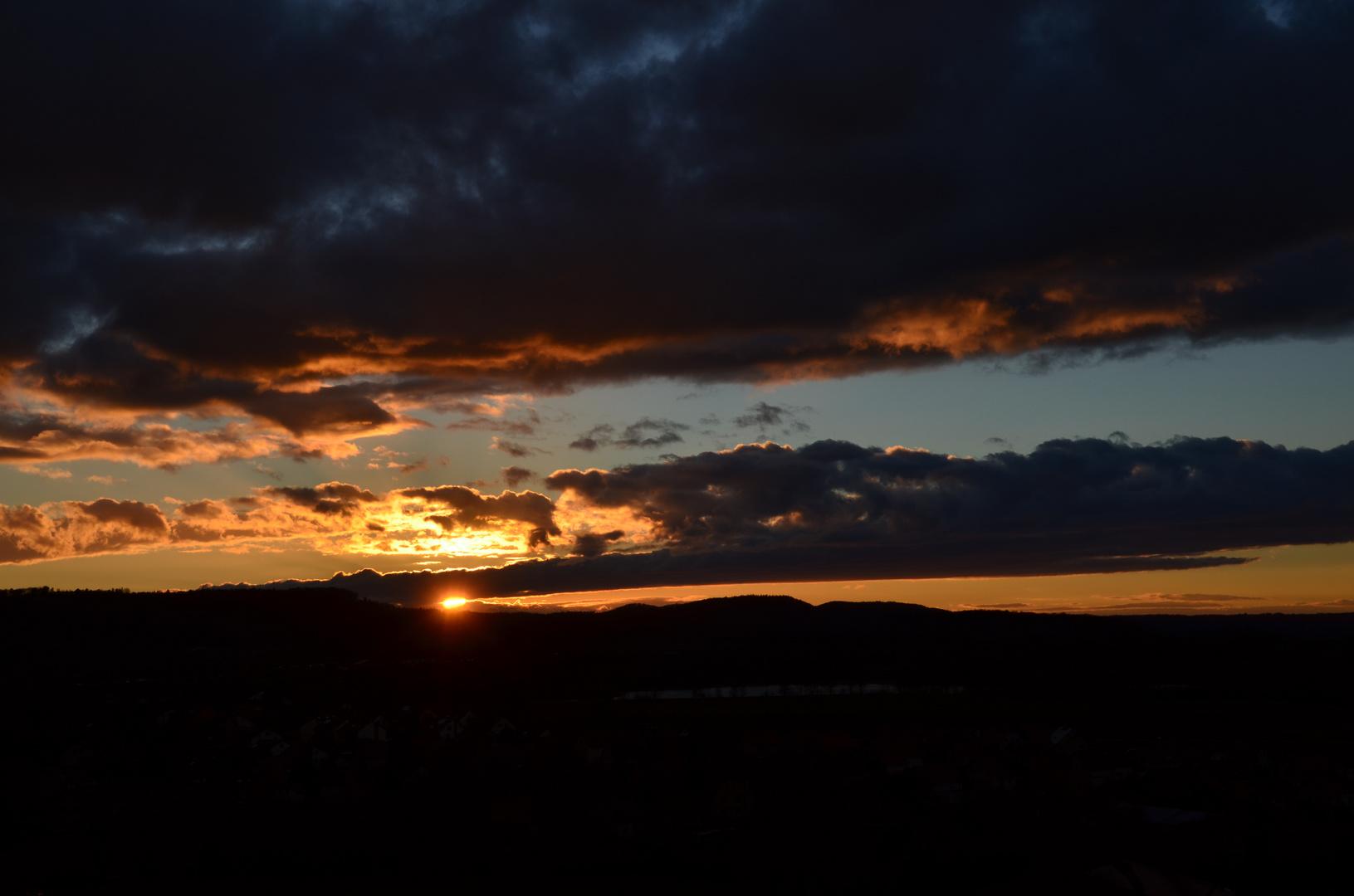 Sonnenuntergang vom Paradies