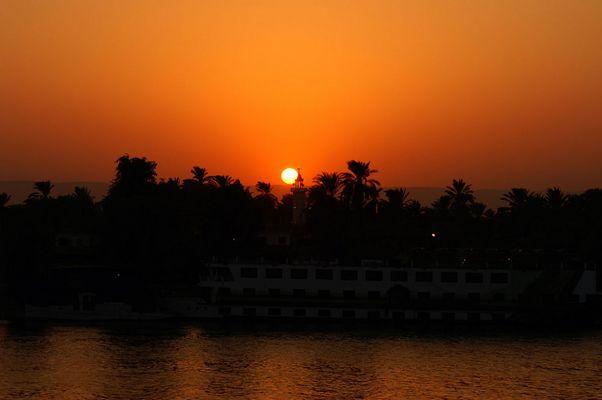 Sonnenuntergang vom Sonnendeck