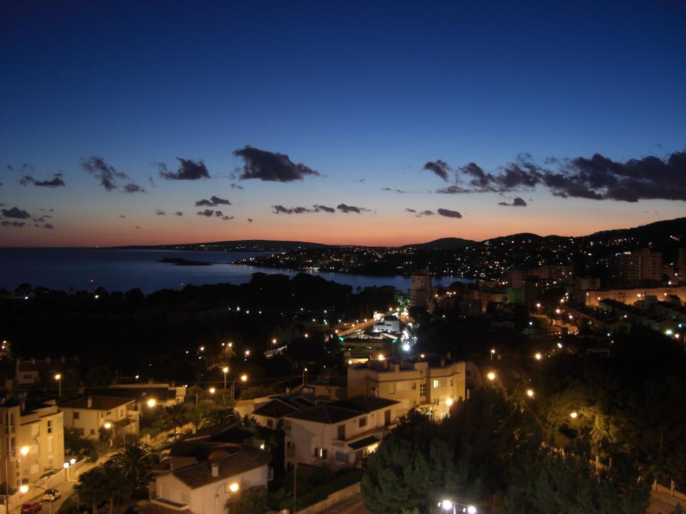 Sonnenuntergang vom Valparaiso Genova aus