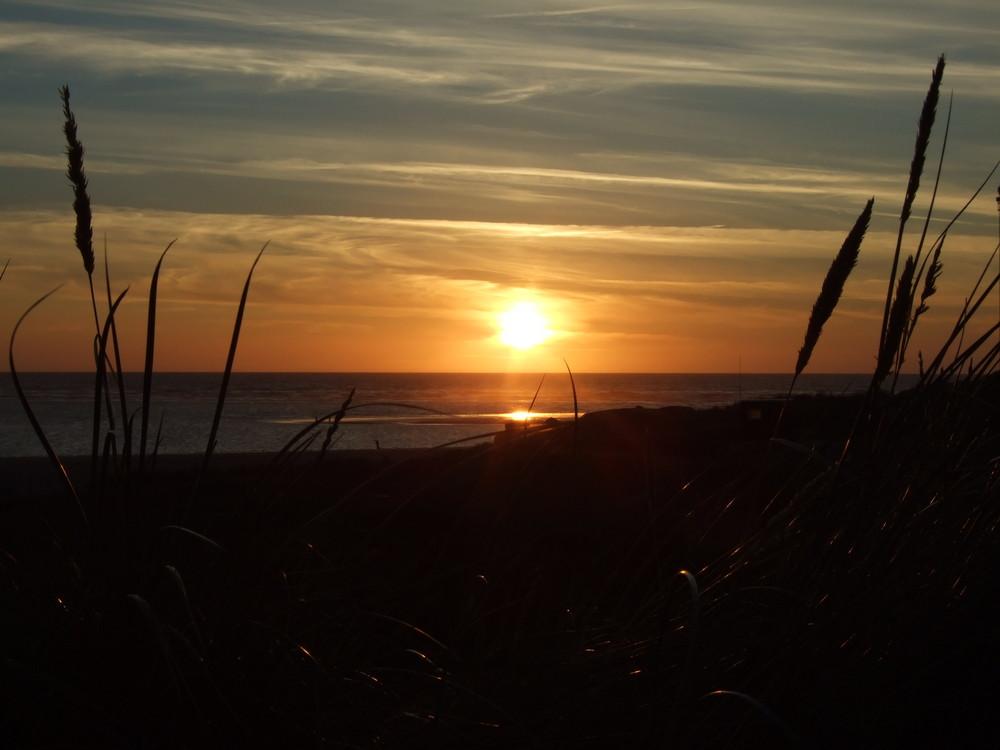 Sonnenuntergang von Blavand