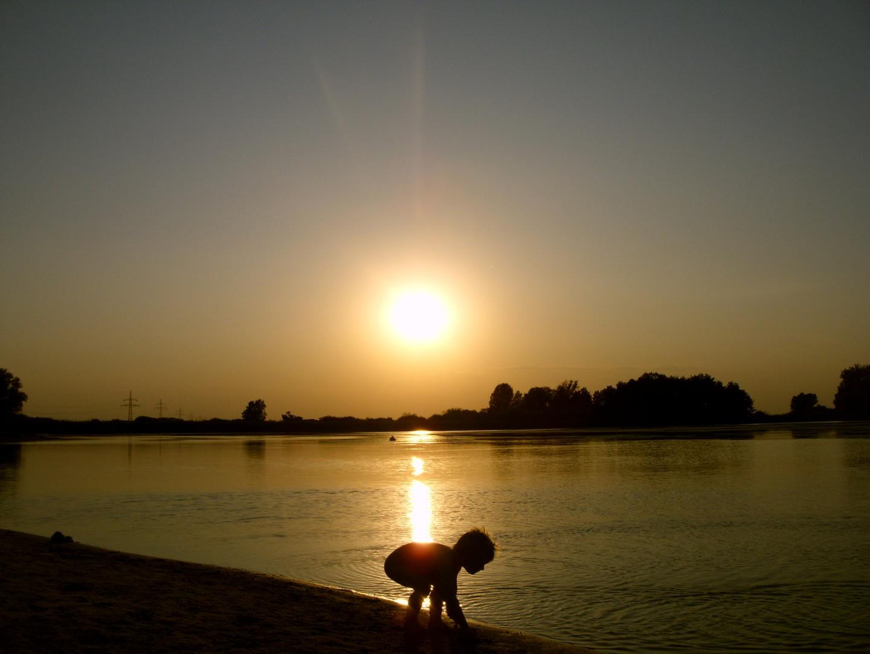 """Sonnenuntergang - """"Von der Sonne geküsst"""""""