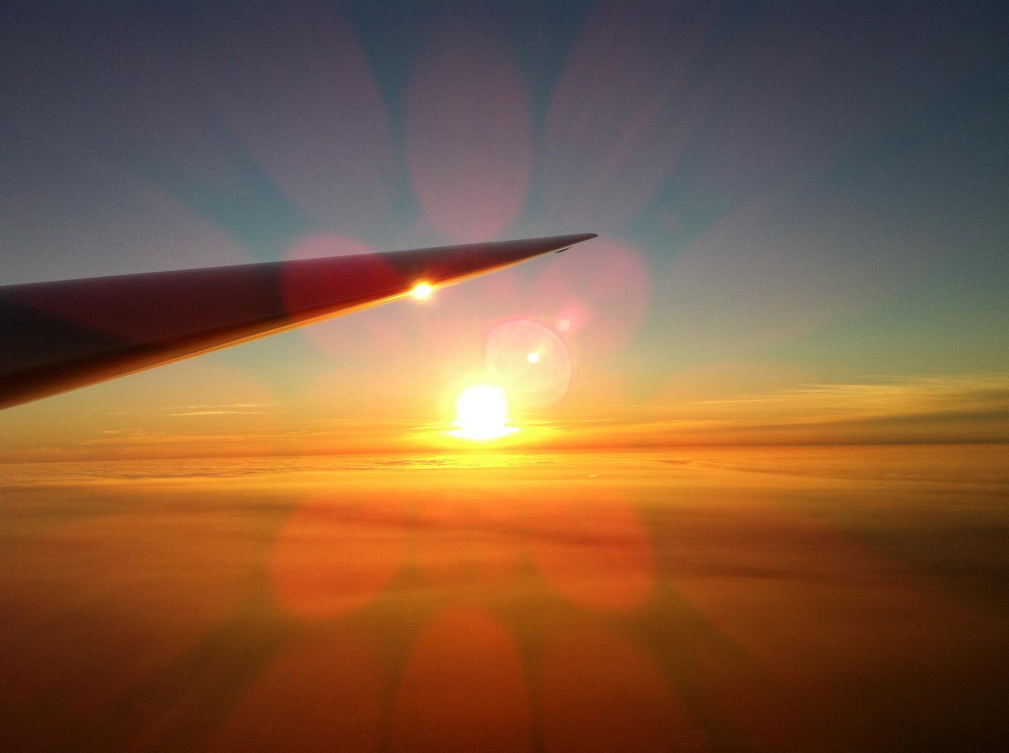 Sonnenuntergang von seiner schönsten Seite