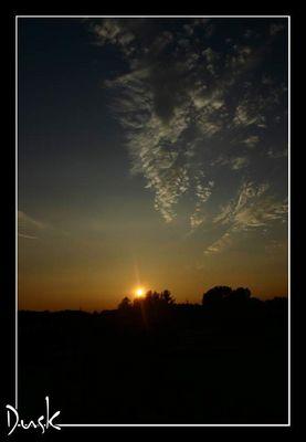 Sonnenuntergang... wahrscheinlich der 1000ste *g*