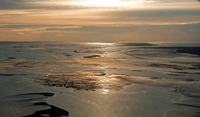 Sonnenuntergang Wattenmeer