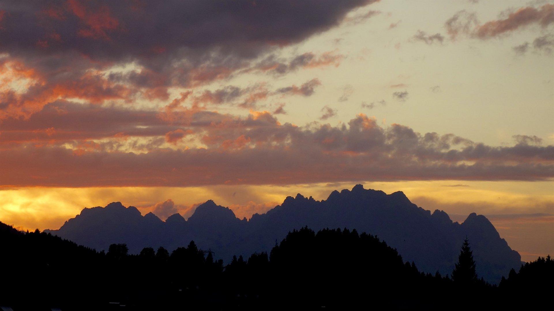 Sonnenuntergang Wilder Kaiser