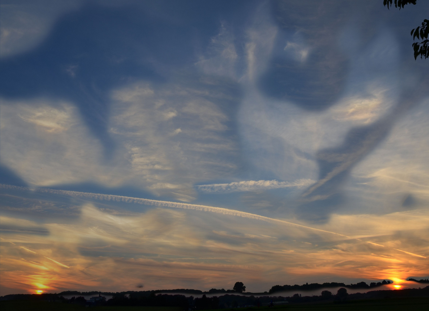 Sonnenuntergang x 2