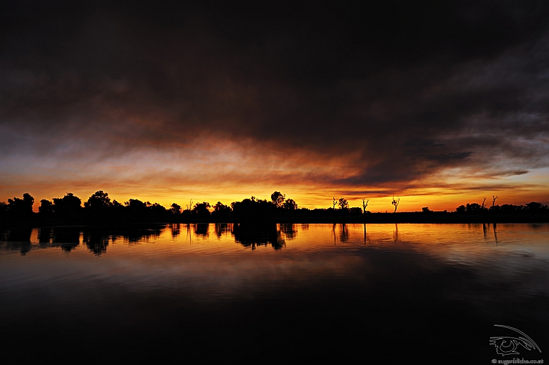 Sonnenuntergang @ Yellow Waters