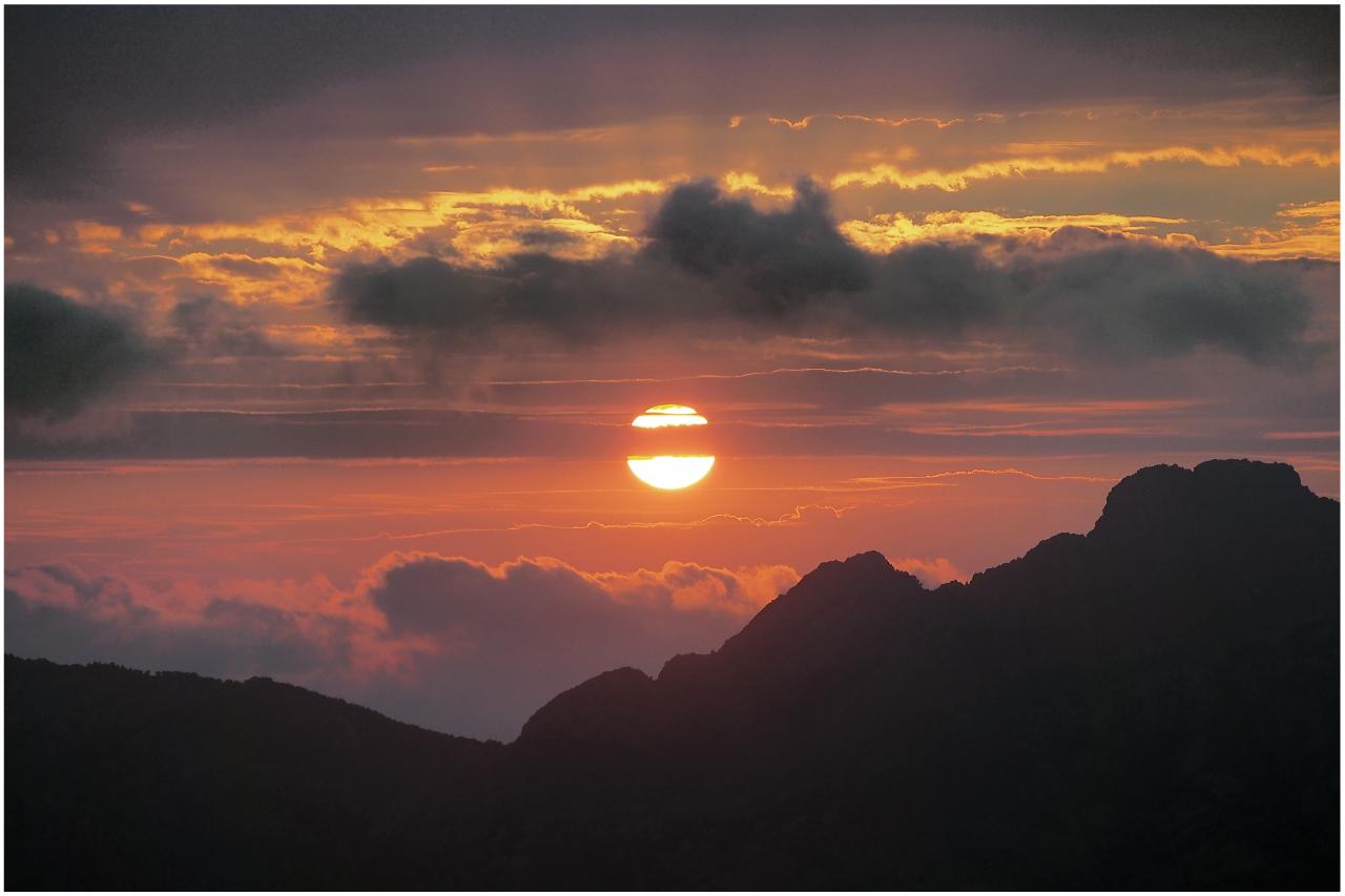 Sonnenuntergang zum xten..........