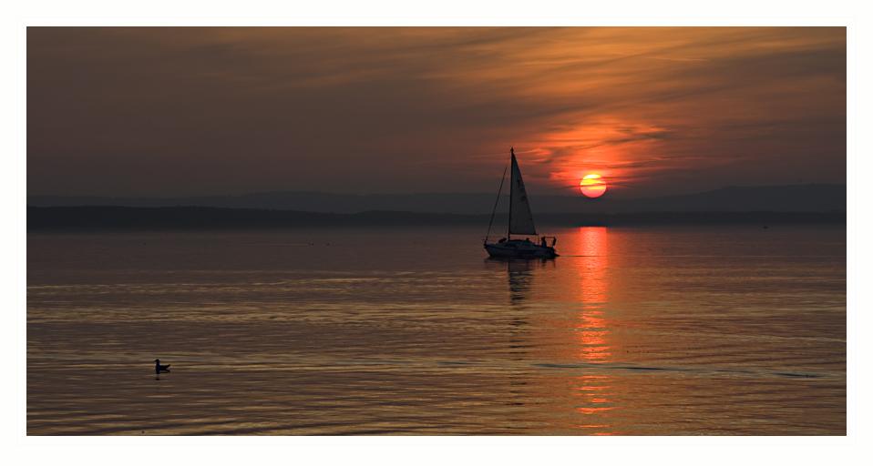 Sonnenuntergang zum Zweiten...