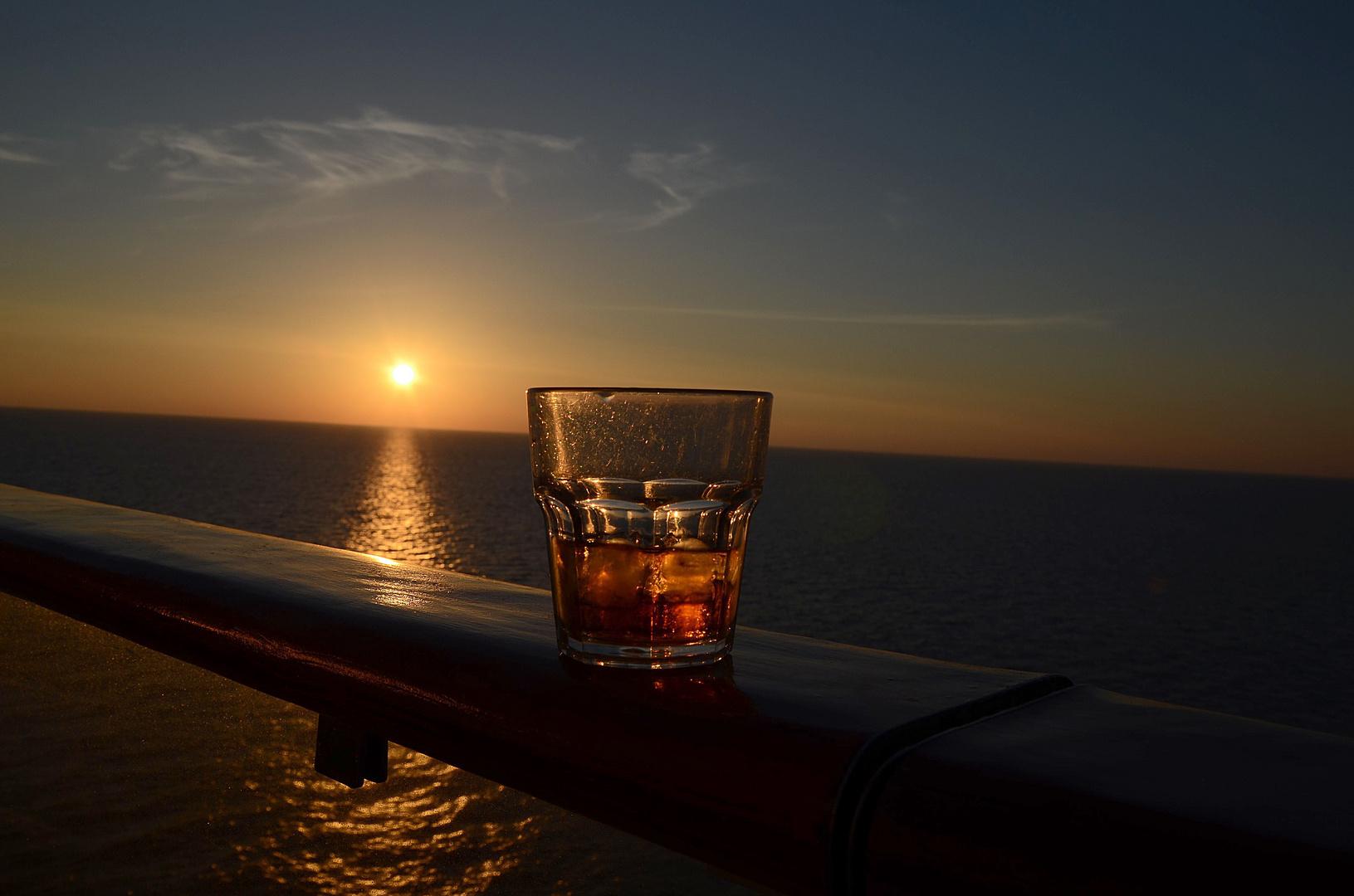 Sonnenuntergang...entspannt