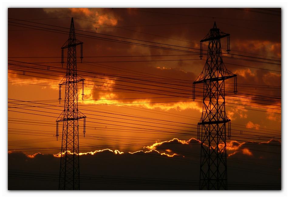 Sonnenuntergangsernergie