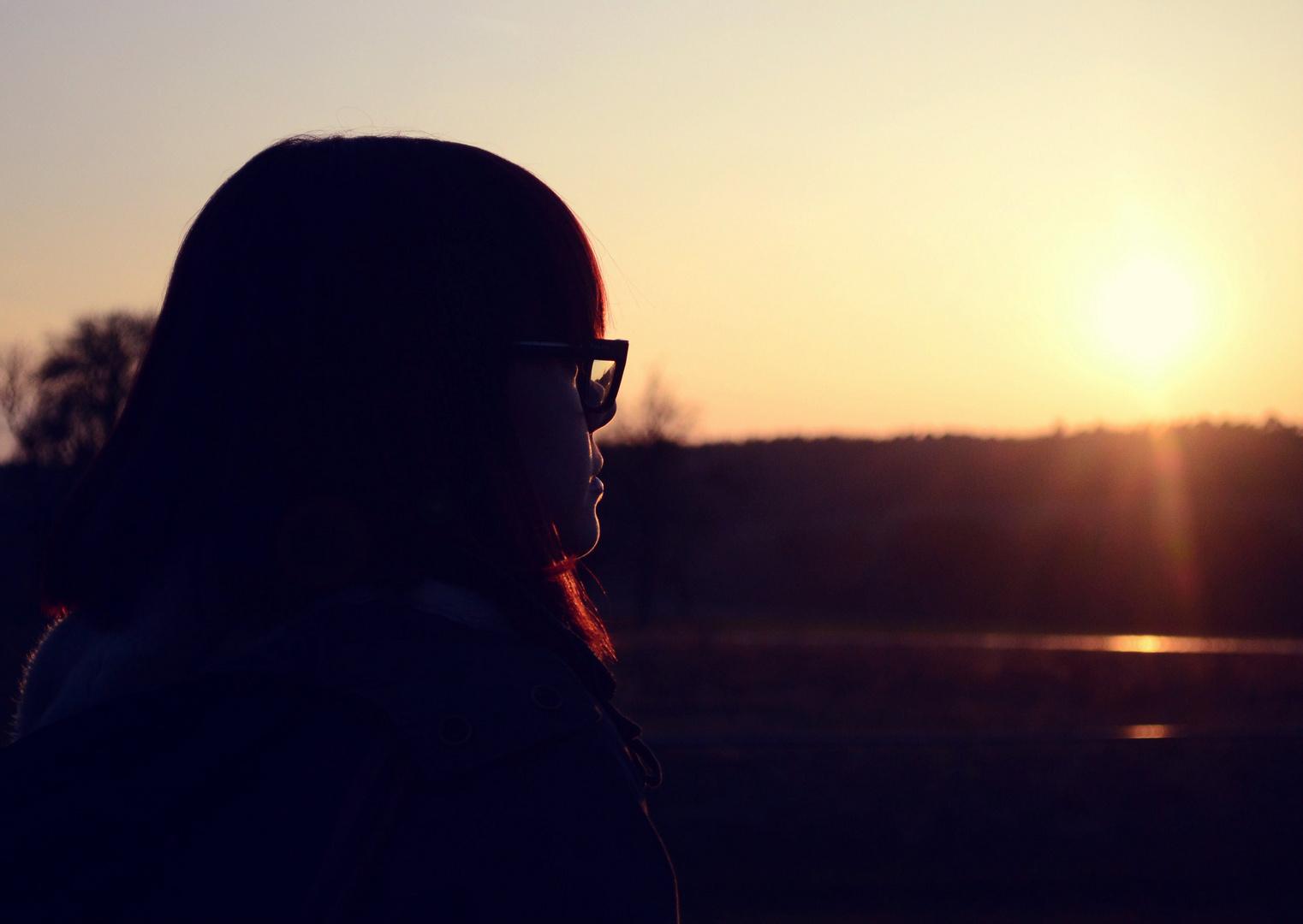 Sonnenuntergangsstimmung :)