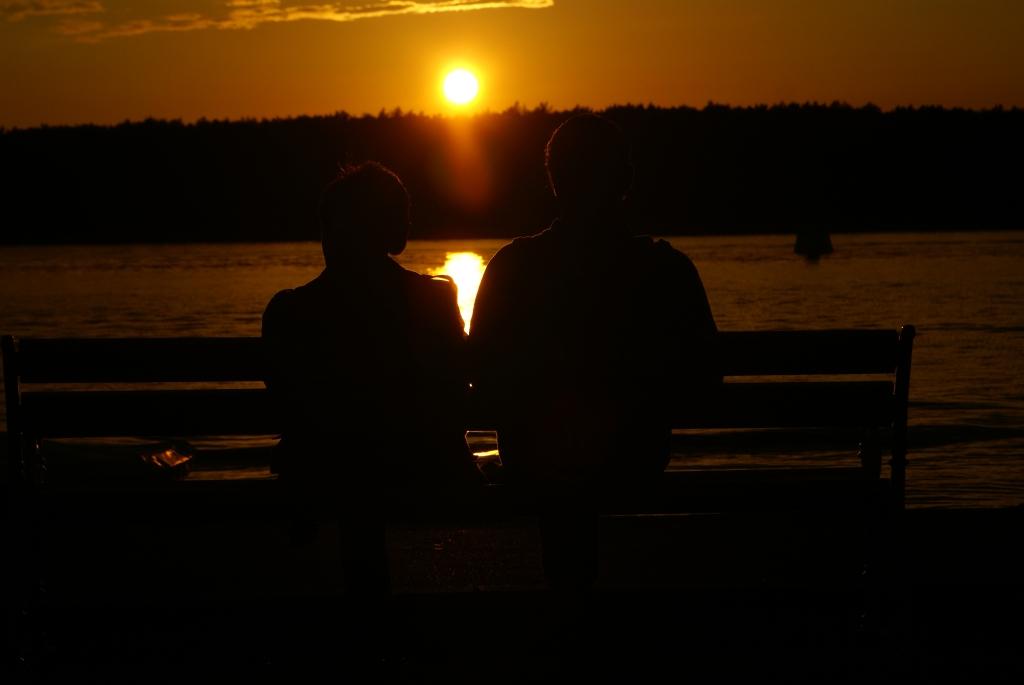 Sonnenuntergangsstimmung in Punat (Krk)