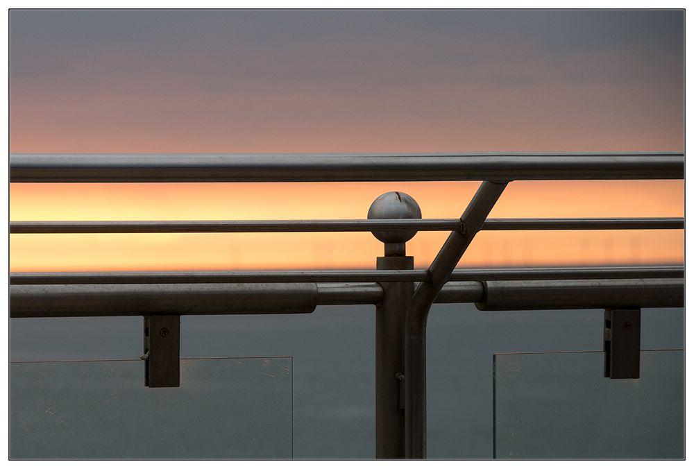 Sonnenuntergangsstreifen