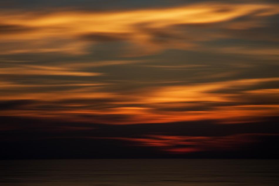 Sonnenuntergangswusch