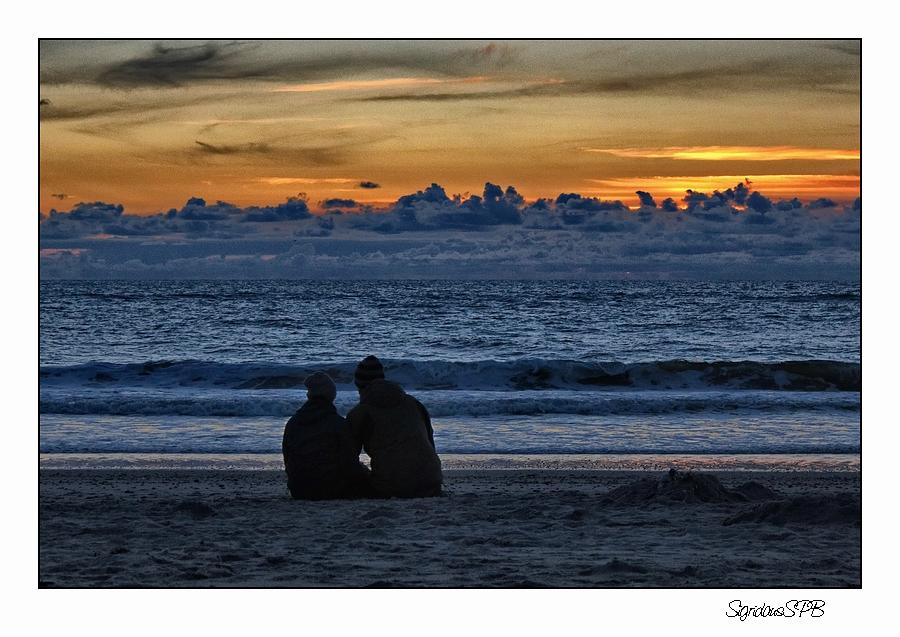 Sonnenuntergang....Zweisamkeit genießen :-)