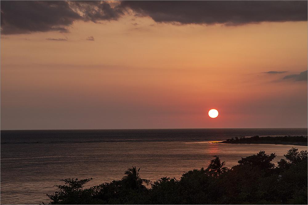 Sonnenunterganstimmung in Trinidad