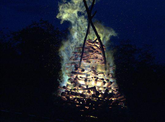 Sonnenwendfeuer in Sonnenberg