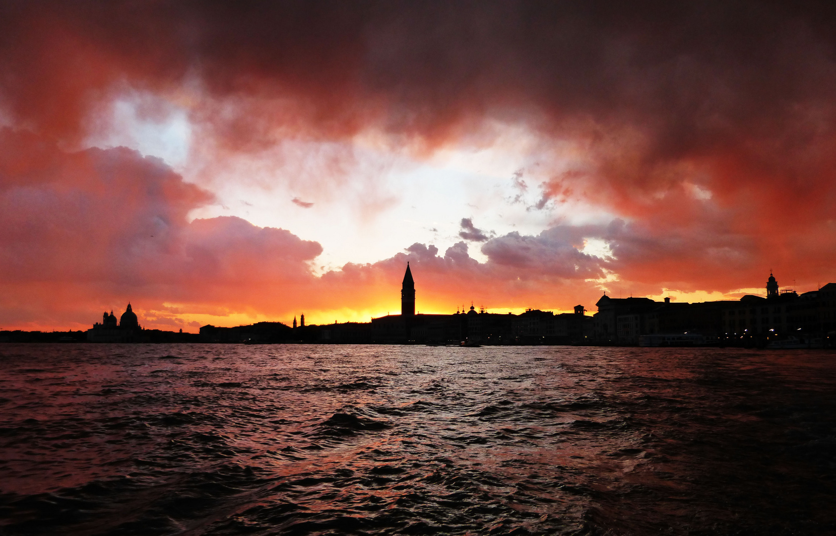 Sonneruntergang Venedig