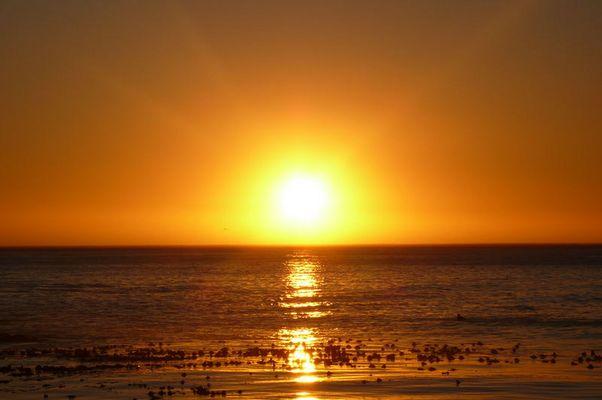 Sonneuntergang bei Kapstadt